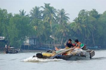 Jonque Can Tho Delta Mekong Vietnam blog voyage 2016 22