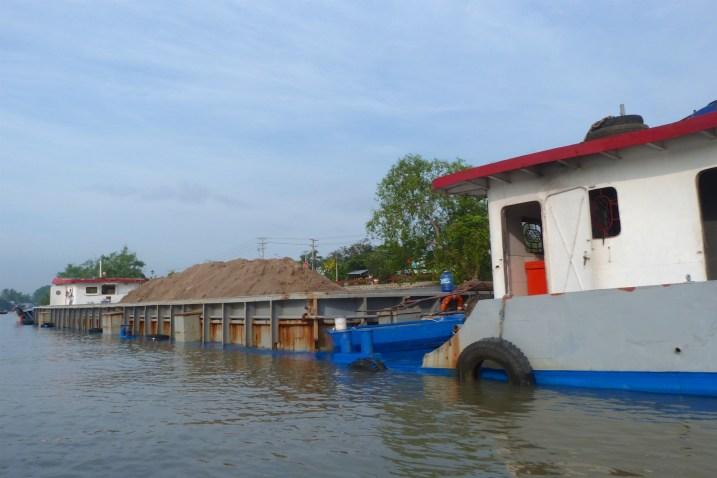 Barge Can Tho Delta Mekong Vietnam blog voyage 2016 24