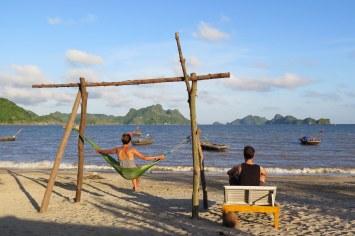 Plage paradisiaque Cat Ba Baie Halong Vietnam blog voyage 2016 14