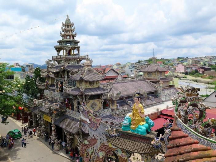 Pagode Linh Phuoc Dalat Vietnam blog voyage 2016 21
