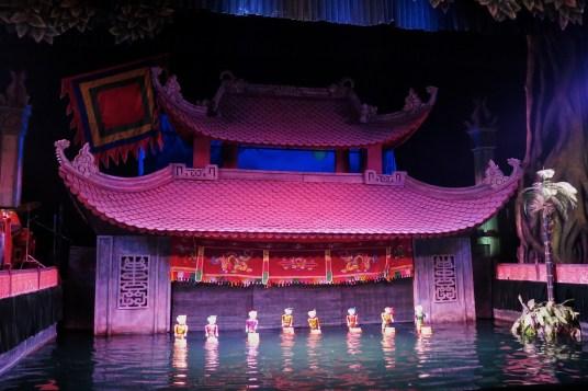 Theatre de marionnettes sur l'eau Hanoi Vietnam blog voyage 2016 13