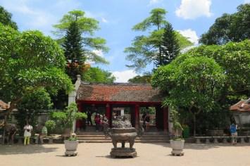 Temple Litterature Hanoi Vietnam blog voyage 2016 29