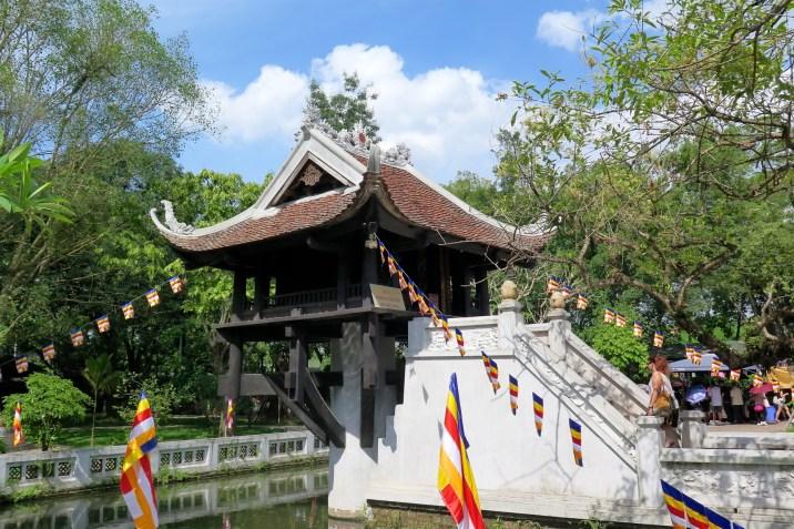 Pagode Pilier unique Hanoi Vietnam blog voyage 2016 30