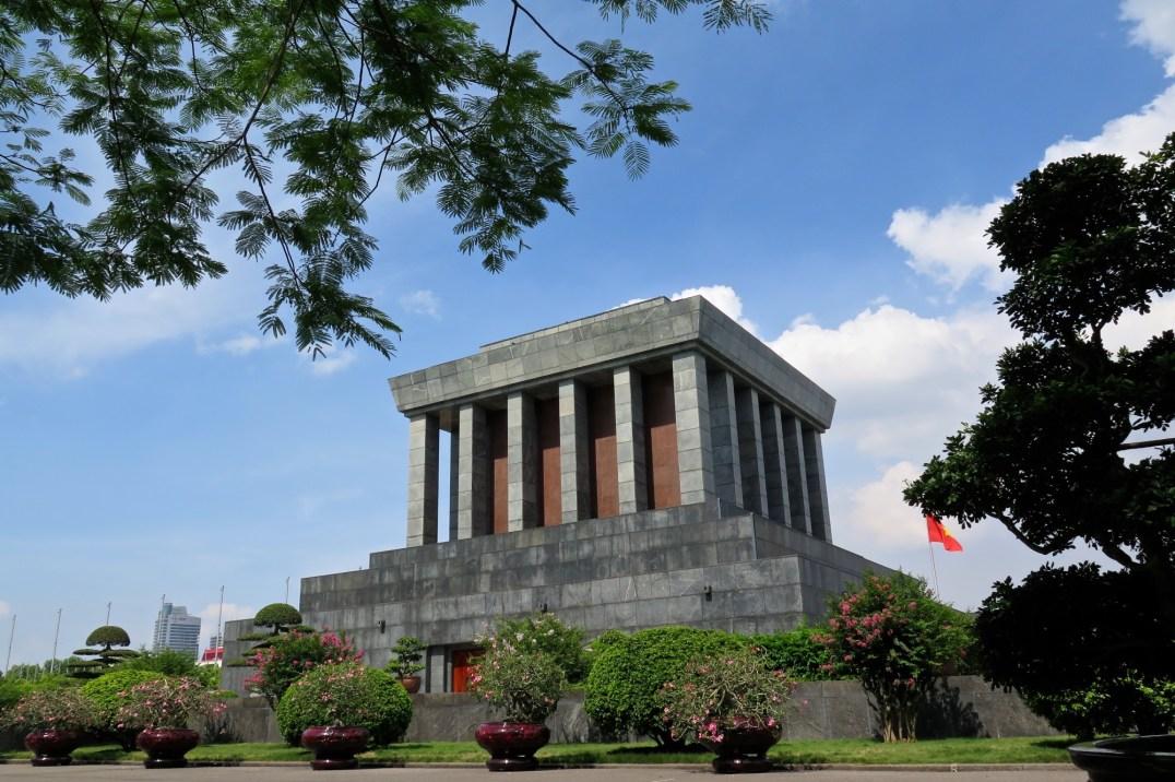 Mausolée Ho Chi Minh Hanoi Vietnam blog voyage 2016 5