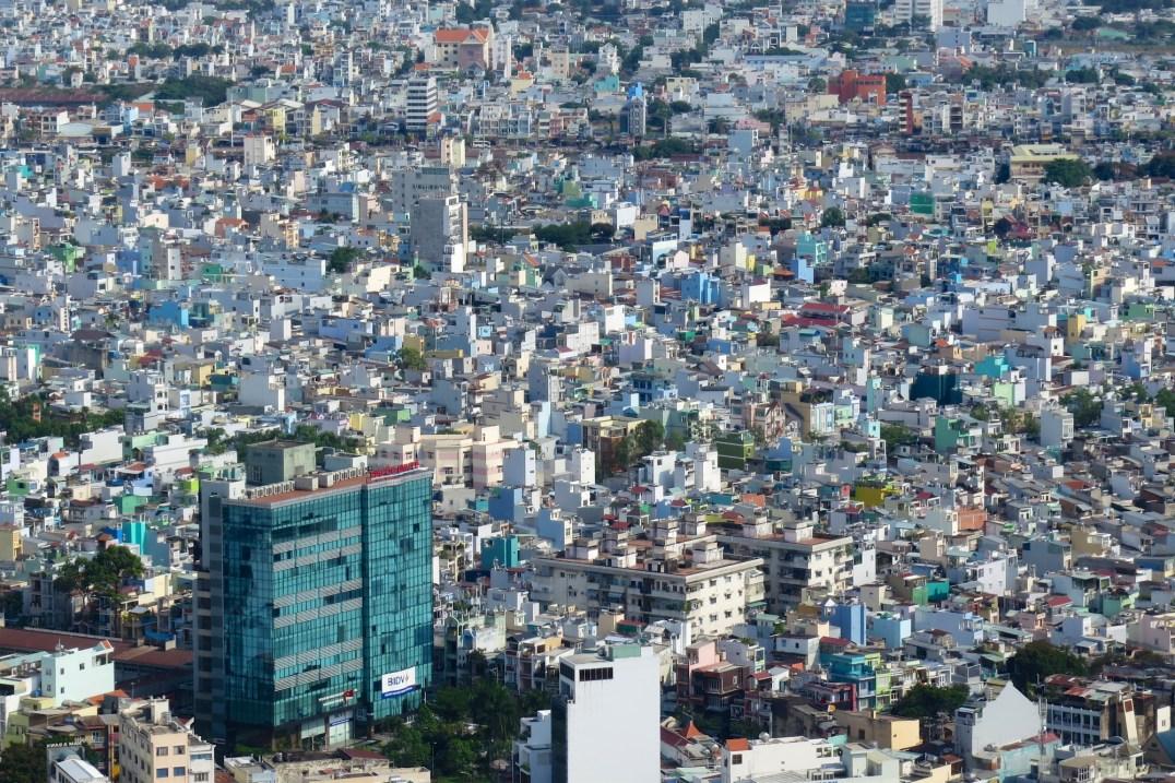 Vue tour Bitexco Hochiminh ville Vietnam blog voyage 2016 25