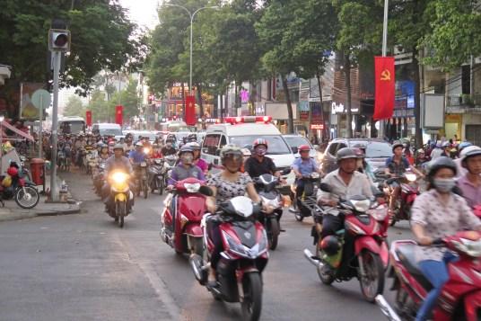 Scooters Hochiminh ville Vietnam blog voyage 2016 31