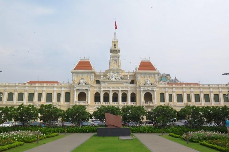 Hotel de ville Hochiminh ville Vietnam blog voyage 2016 4