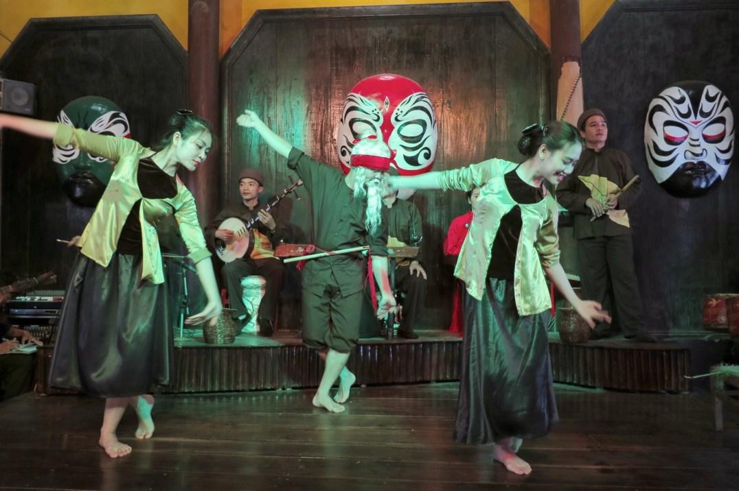Spectacle de danse et musique traditionnelles