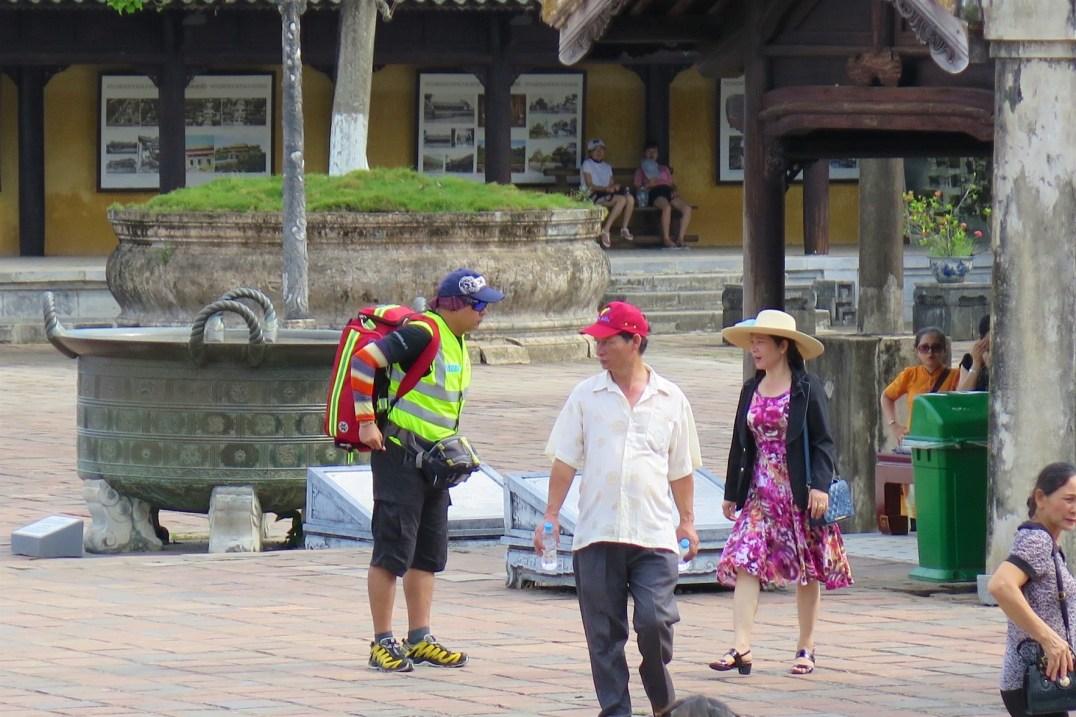 Sauveteur Hue Vietnam blog voyage 2016 22