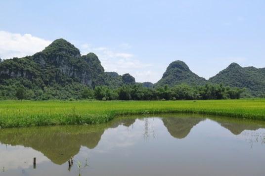 Balade barque Tam Coc Baie Halong terrestre Vietnam blog voyage 2016 11