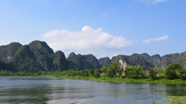 Balade en scooter Tam Coc Baie Halong terrestre Vietnam blog voyage 2016 15