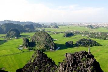 Temple hang Mua sommet Tam Coc Baie Halong terrestre Vietnam blog voyage 2016 18