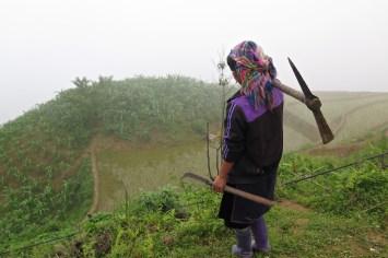 Hmong noir Trek Sapa Vietnam blog voyage 2016 27