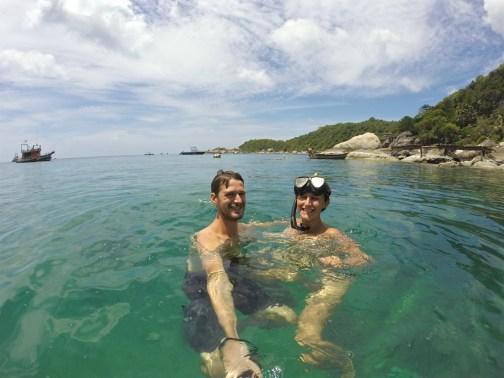 Baignade Koh Tao Bilan Thailande blog voyage 2016 9