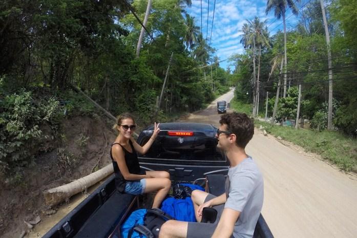 4x4 Koh Tao Thailande blog voyage 2016 19