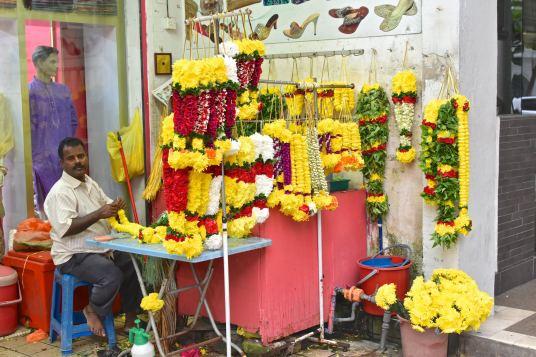 Vendeur Little India Kuala Lumpur Malaisie blog voyage 2016 42