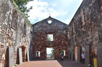 Eglise St Paul Malacca Malaisie blog voyage 2016 11