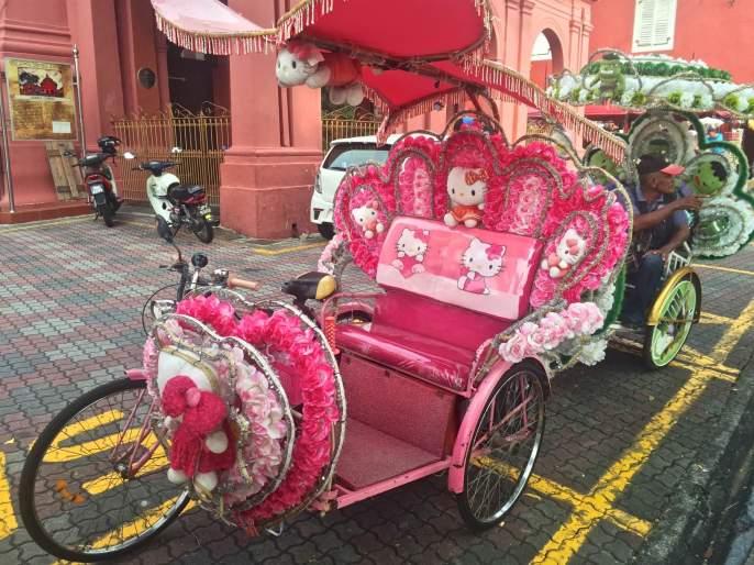 Trishaw Malacca Malaisie blog voyage 2016 4