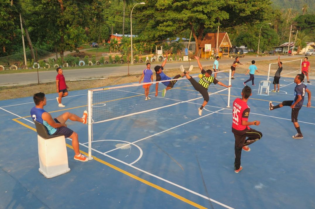 Takraw Palau Tioman Malaisie blog voyage 2016 12