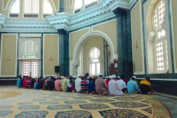 Mosquée Ubudiah Ipoh Kuala Kangsar Malaisie blog voyage 2016 21