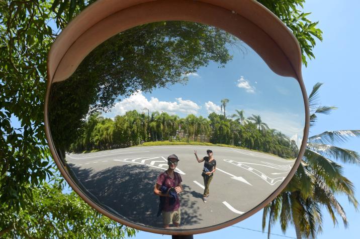 Miroir Ipoh Kuala Kangsar Malaisie blog voyage 2016 26