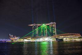 Water Show Marina Bay Sands Singapour blog voyage 2016 47