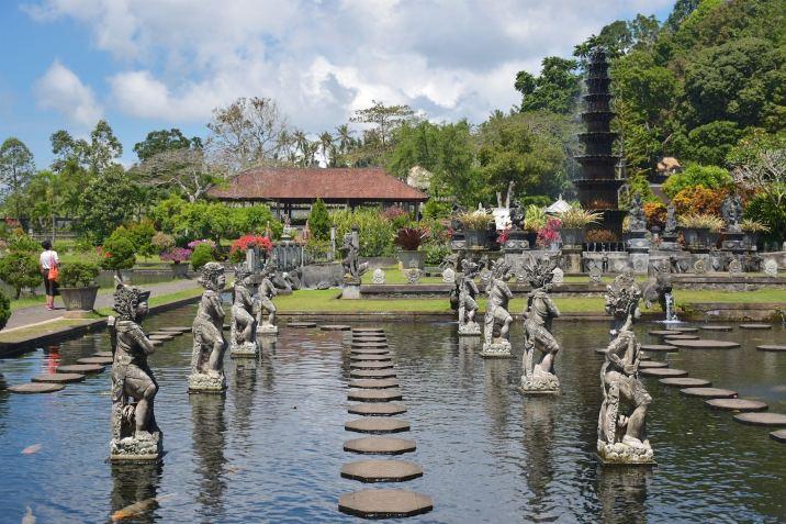 Pura Tirtagangga, le temple de l'eau