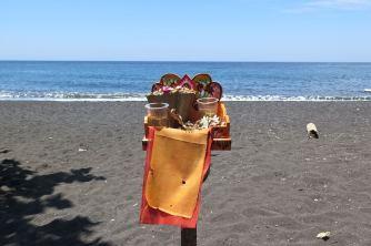 Temple sur la plage