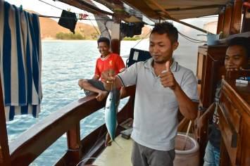 L'équipage à la pêche