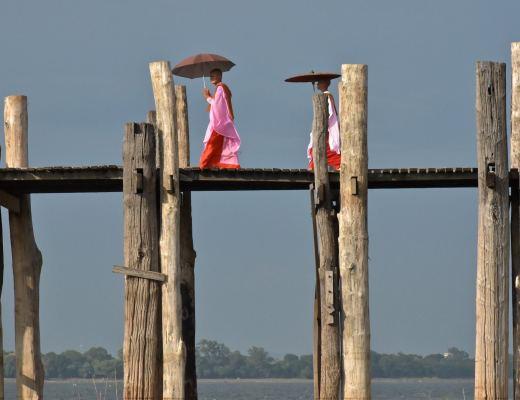 Nonnes U-bein Mandalay-Inwa-Ubein-Myanmar-Birmanie-blog-voyage-2016 64