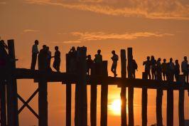 Coucher de soleil U Bein Mandalay-Inwa-Ubein-Myanmar-Birmanie-blog-voyage-2016 72