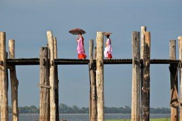 Nonnes Pont U-Bein Bilan-Myanmar-Birmanie-blog-voyage-2016 8