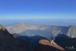 Ascension du Gunung Rinjani à Lombok, Indonésie