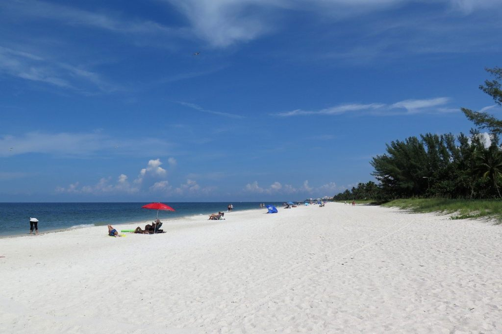Naples Beach Un an Floride blog voyage 2019 16