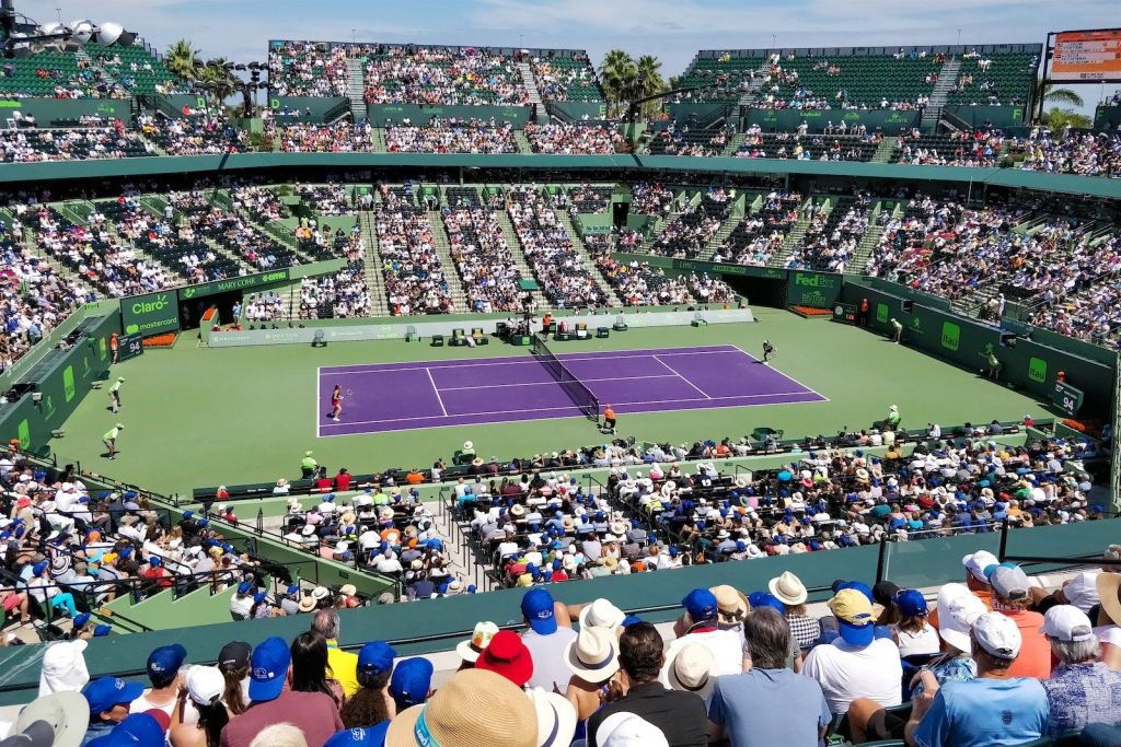 Miami Open tennis Un an Floride blog voyage 2019 2