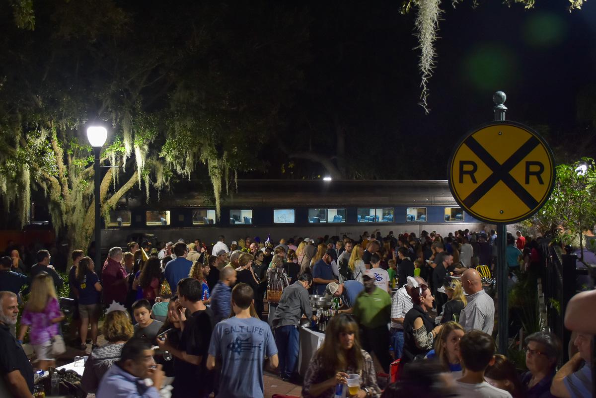 Train place Mount Dora road trip nord Floride blog voyage USA Floride 2019-39