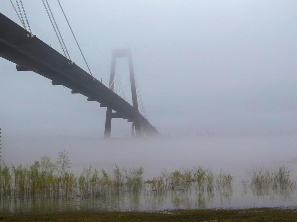 Une journée le long du Mississippi - Pont Mississippi Elise on the way blog voyage US Louisiana-1