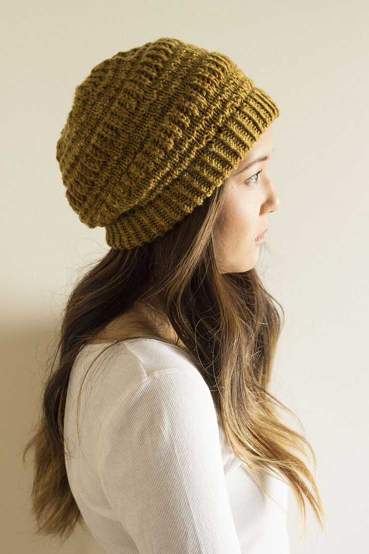 5 Quick Knits to Gift | Timber Bay Hat by Dandiliongirl Designs