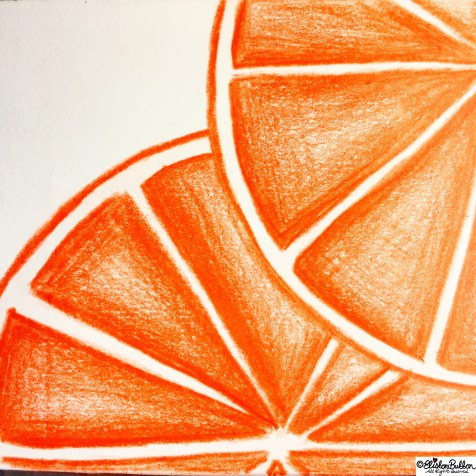 Day 09 - Orange - Photo-a-Day - September 2014 at www.elistonbutton.com - Eliston Button - That Crafty Kid – Art, Design, Craft & Adventure.