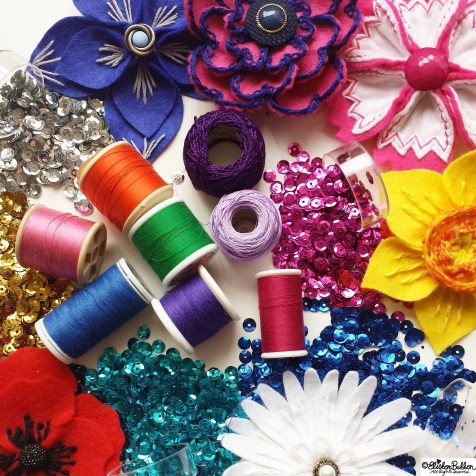 Day 19 - S is for..Sequins and Sewing - Photo-a-Day October 2014 - Eliston Button A to Z of Craft at www.elistonbutton.com - Eliston Button - That Crafty Kid – Art, Design, Craft & Adventure.