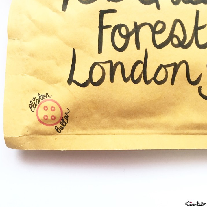 Day 15 - Mail - Happy Mail is from Eliston Button Etsy Shop! - Photo-a-Day - January 2016 at www.elistonbutton.com - Eliston Button - That Crafty Kid – Art, Design, Craft and Adventure.