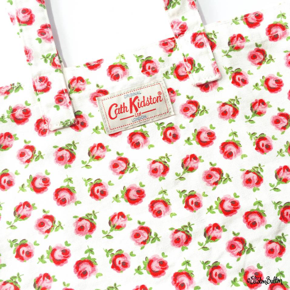 Day 25 - I Shop Here - Cath Kidston Tiny Rose Floral Print Tote Bag - Photo-a-Day – June 2016 at www.elistonbutton.com - Eliston Button - That Crafty Kid – Art, Design, Craft & Adventure.
