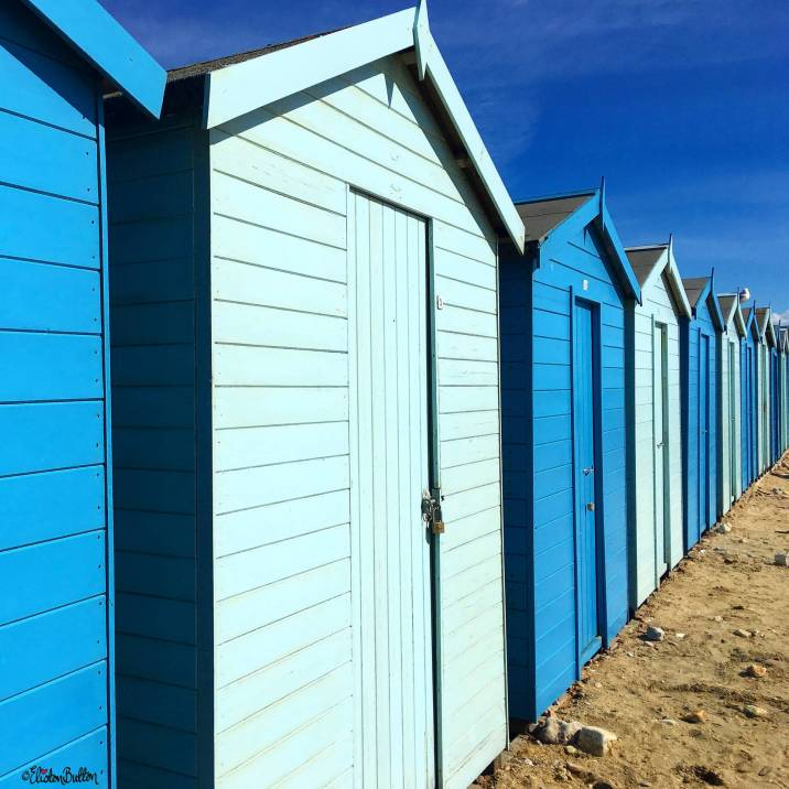 Beach Huts on Charmouth Beach, Dorset, UK - Around Here…September 2016 at www.elistonbutton.com - Eliston Button - That Crafty Kid – Art, Design, Craft & Adventure.