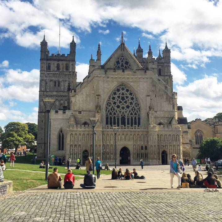 Exeter Cathedral, Exeter, UK - Around Here…September 2016 at www.elistonbutton.com - Eliston Button - That Crafty Kid – Art, Design, Craft & Adventure.