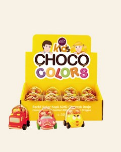 Choco Colors Araba Display 50g