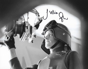 Julian Glover Signed General Veers10x8, these were signed at Carlisle Comic Con 18th March 2018, the signature might slightly differ from the one shown.