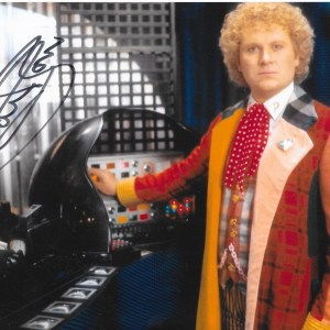 Colin Baker Dr Who 10x8