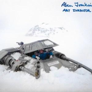 Alan Tomkins Signed Art Director ESB 10x8