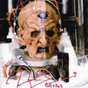 Terry Molloy Signed Davros 10x8