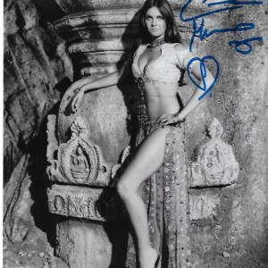 Caroline Munro Sinbad Signed 10x8